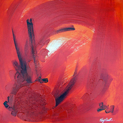 Kay Pratt - Play Red - Winner Abstracts Art Exhibition
