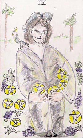 9 of pentacles | AMP: Artists' Meeting Place and Resource
