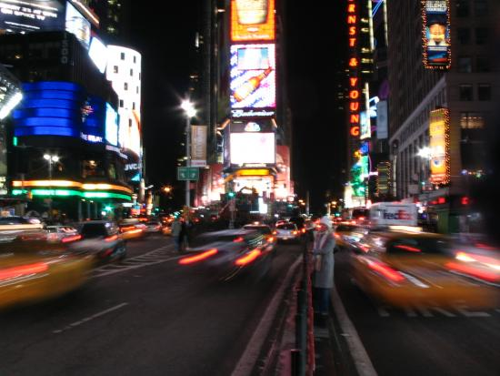 The Energy of Time Square (New York, NY, USA)