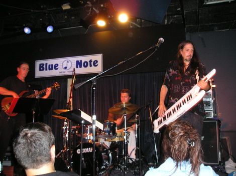 Neil Alexander with his group NAIL at the Blue Note in NYC