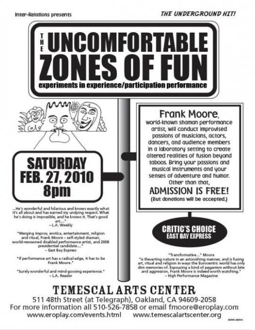 THE UNCOMFORTABLE ZONES OF FUN