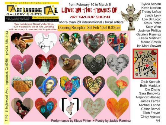 """""""LOVE IN THE TIMES OF …"""" ART GROUP SHOW"""