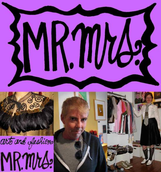 Mr.Mrs. salon this Sunday, Noon to 5pm